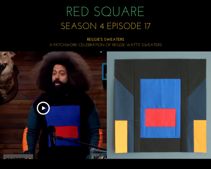 reggies sweaters reggie wears a red square season 4 episode 17