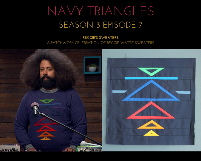 reggies sweaters reggie wears navy triangles season 3 episode 7